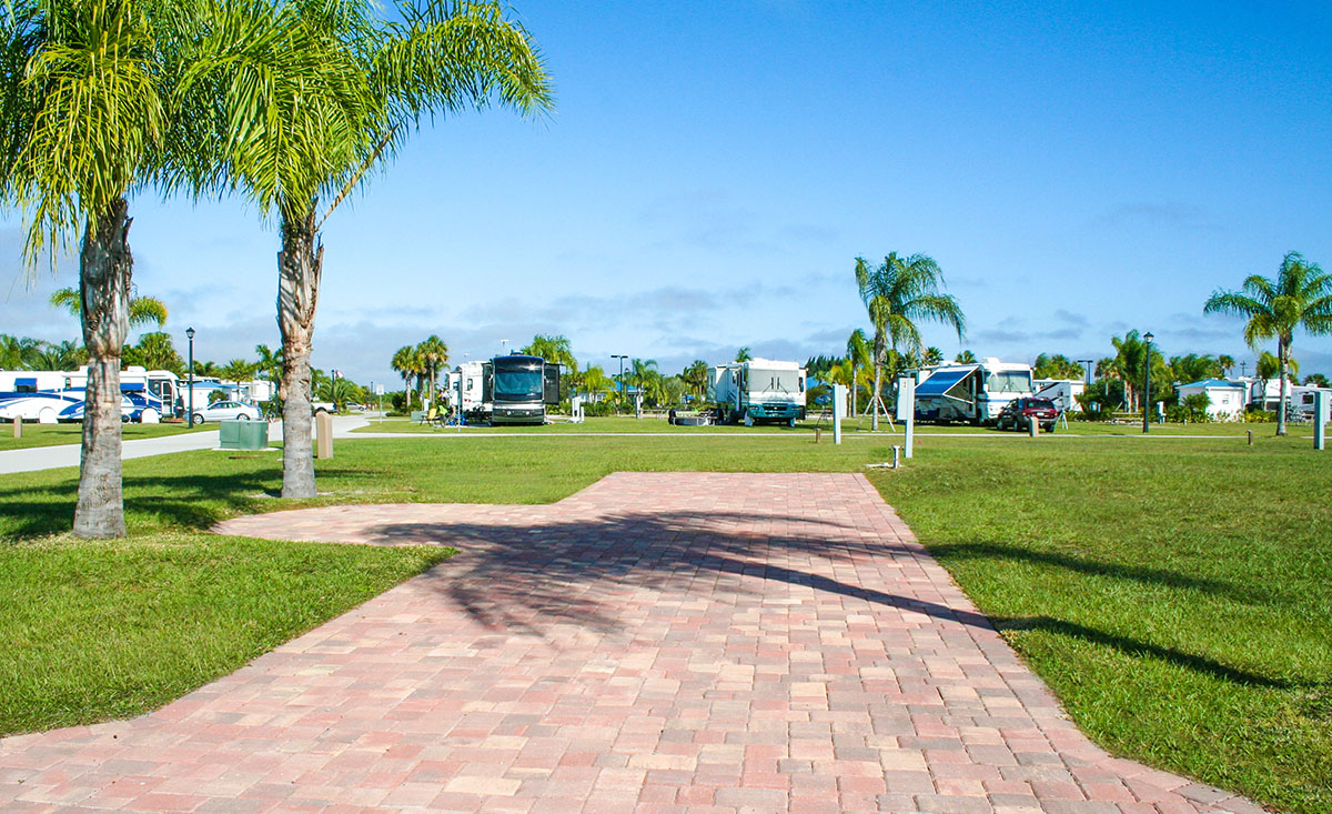 Florida RV Lots for Sale at Silver Palms RV Resort