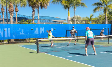 Pickleball At Silver Palms RV Resort