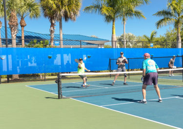 Pickleball At Silver Palms RV Resort