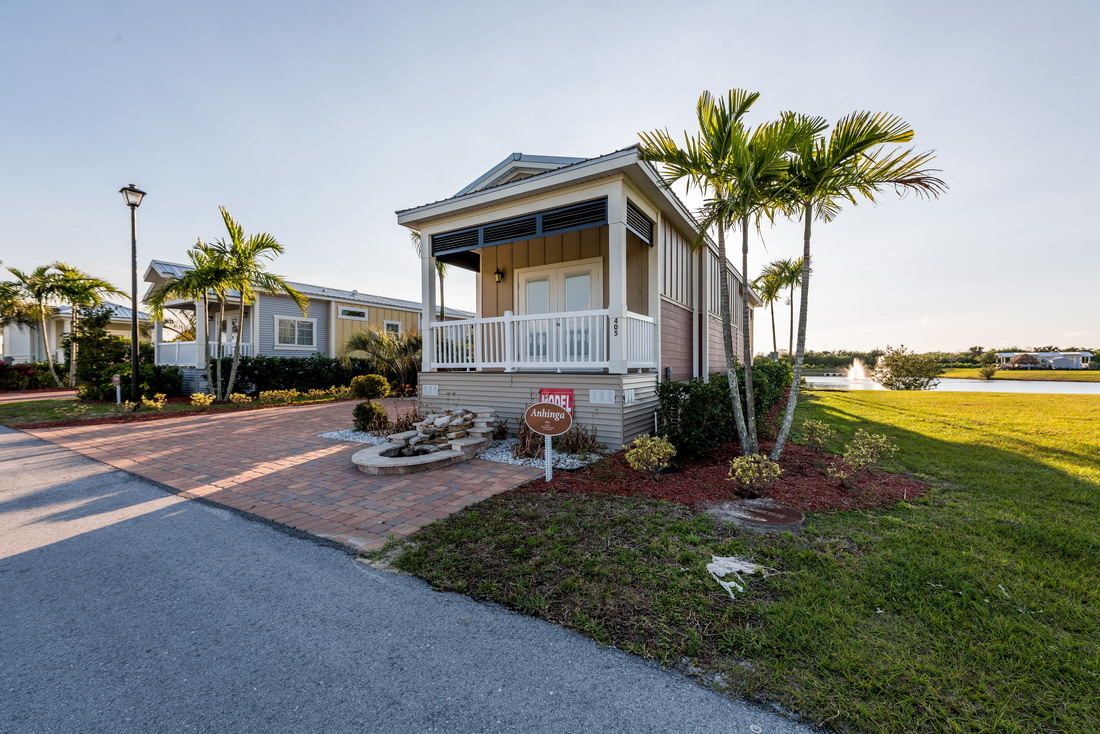 About The Eco Cottages At Silver Palms Rv Resort