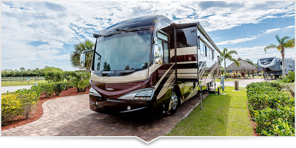 Come see our extra wide RV sites in Florida