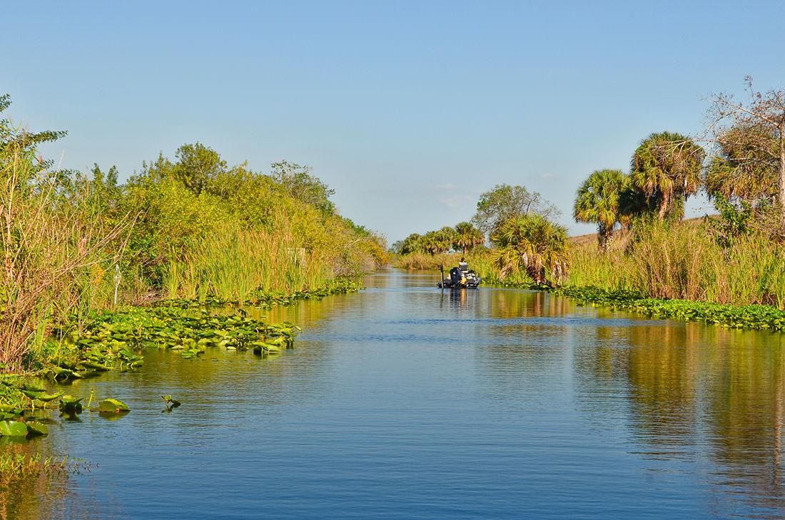 Lake Okeechobee in Florida