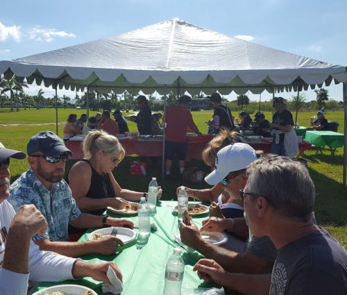 A Barbecue Hosted By Silver Palms In Support Of Big Lake Mission Toy Run