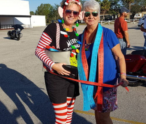 Santa's Elf Showed Up To Support Big Lake Mission Toy Run, Hosted By Silver Palms