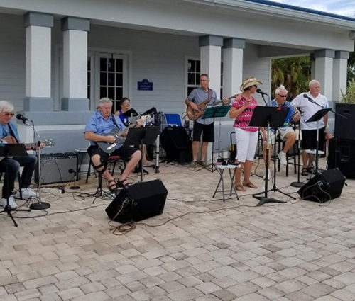 Live Music By The Pool By Our Silver Palms Band