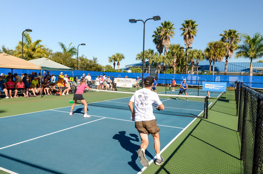 Annual Pickleball Tournament At Silver Palms