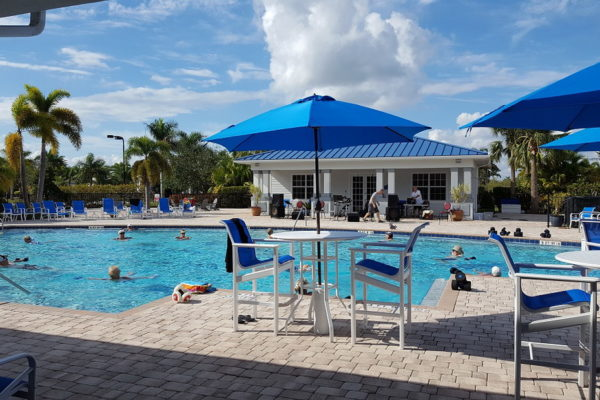 All-gender Water Aerobics At Silver Palms