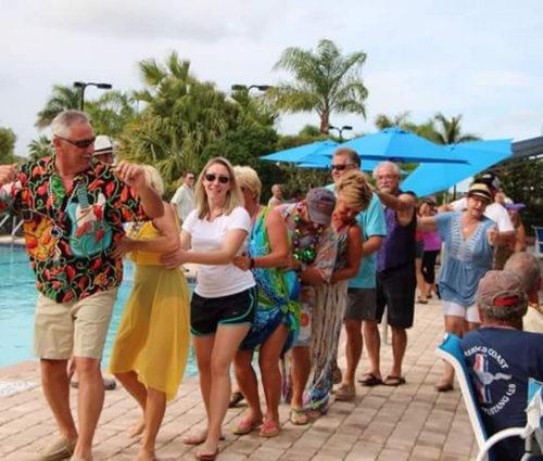 Mardi Gras Event At Silver Palms RV Resort