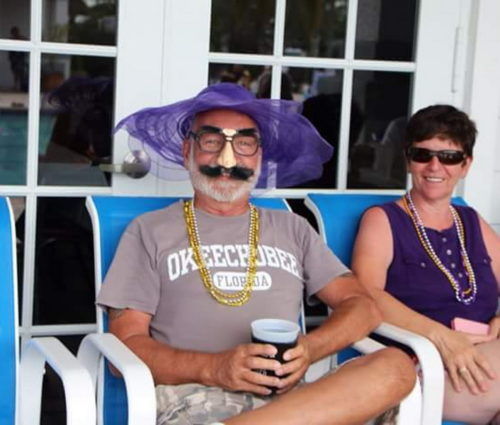 Mardi Gras Event At Silver Palms RV Resort