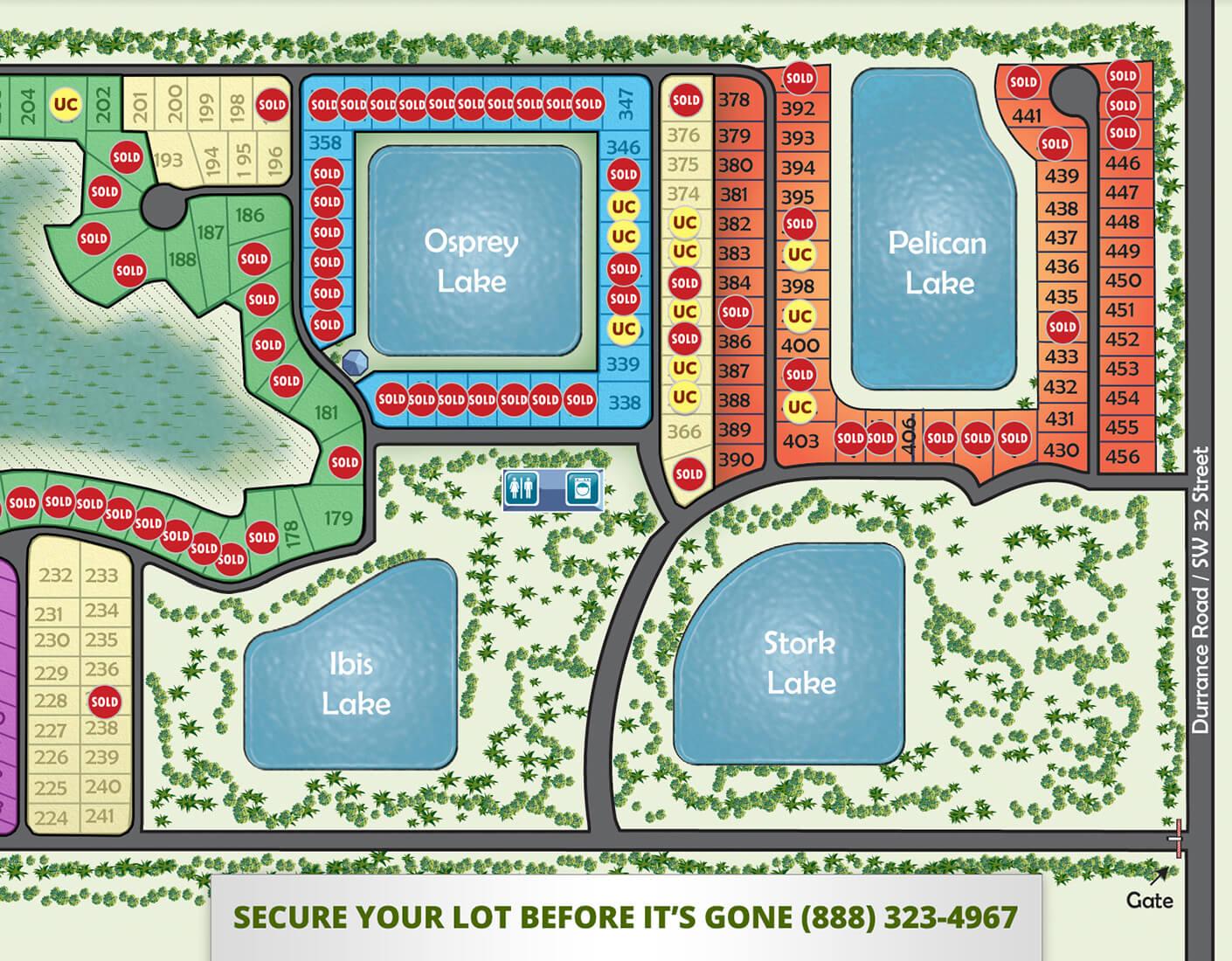 Silver Palms RV Resort Lot Sales